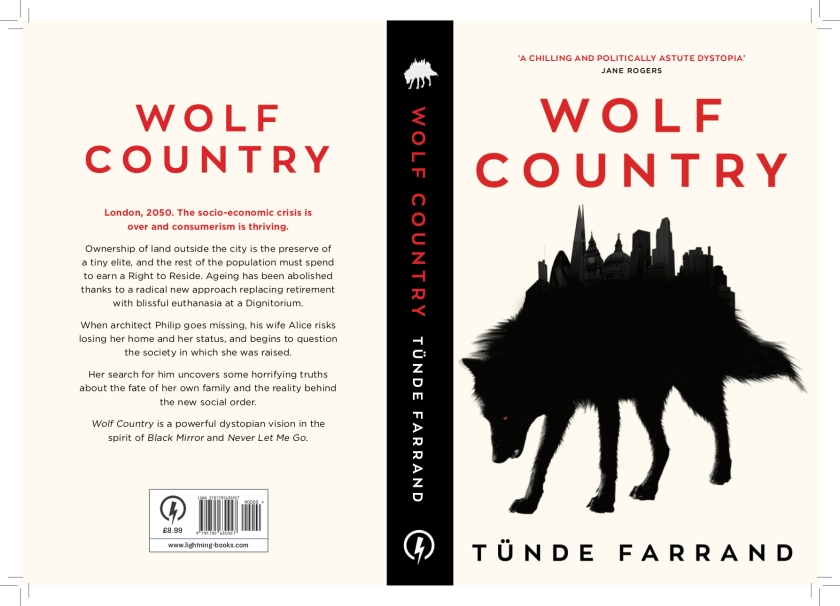Wolf Country Book Cover - Tunde Farrand